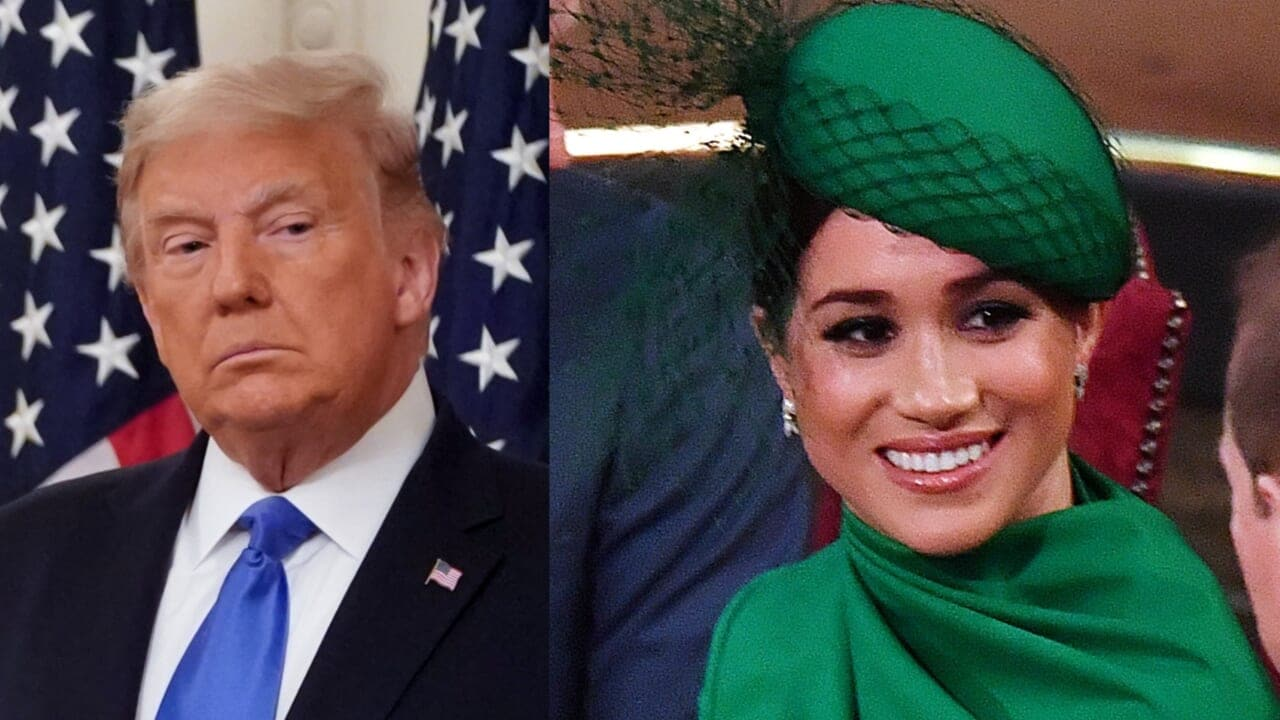 Trump says he's 'not a fan' of Meghan Markle after Biden endorsement - TheGrio