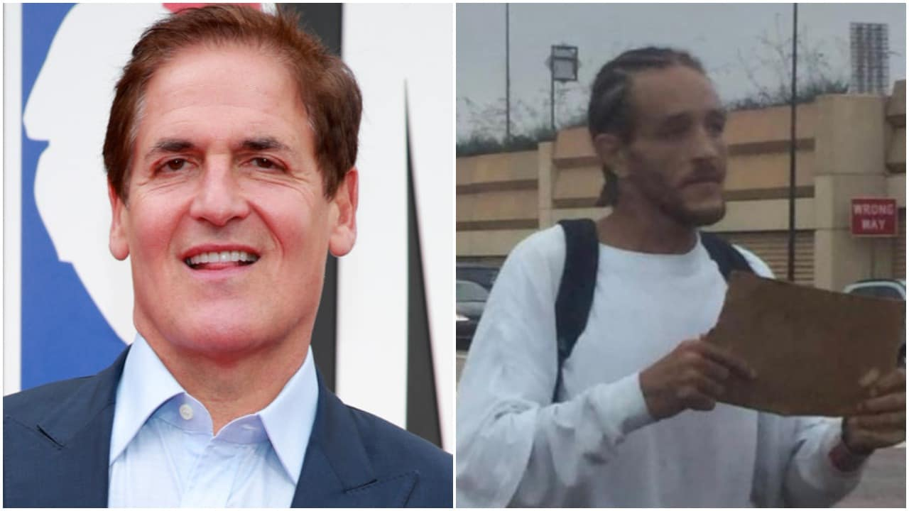Video shows Mark Cuban picking up homeless ex-NBA star Delonte West