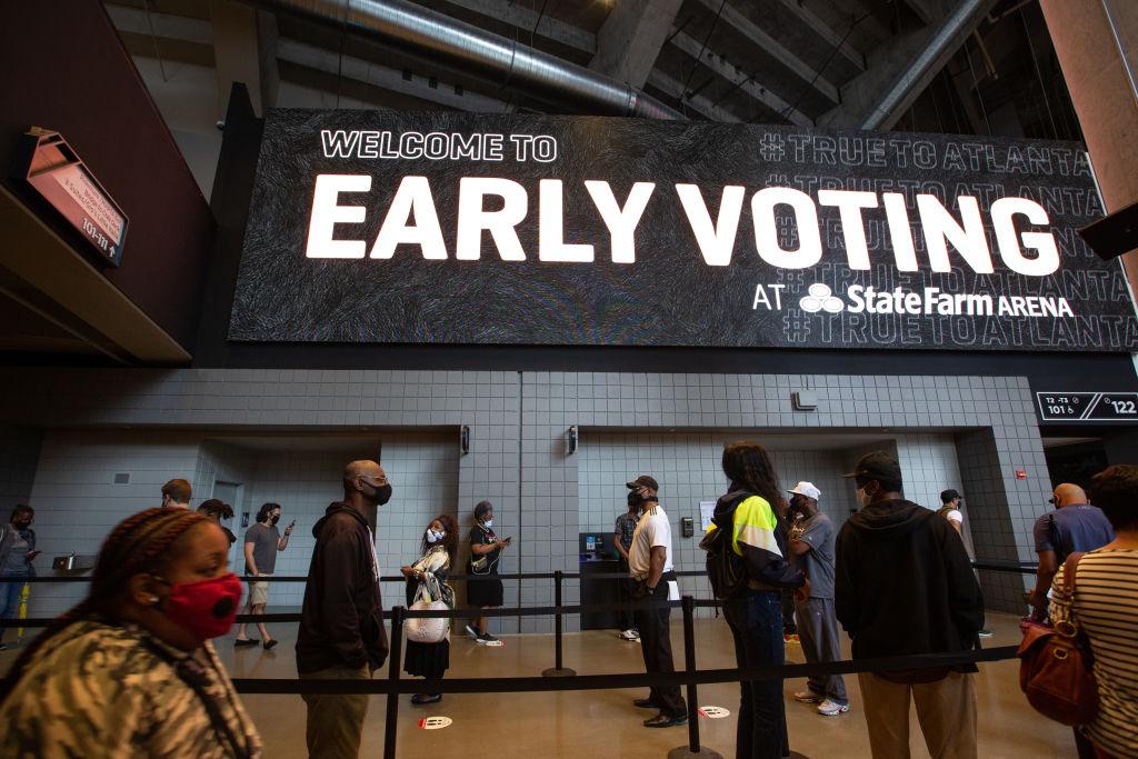 Early Voting Begins In Georgia