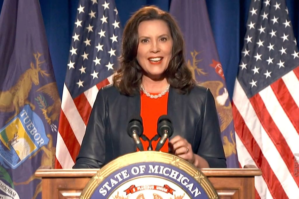 Michigan governor Gretchen Whitmer thegrio.com