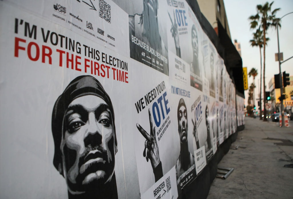 Snoop Dogg registers to vote for the first time - with blunt in hand - TheGrio
