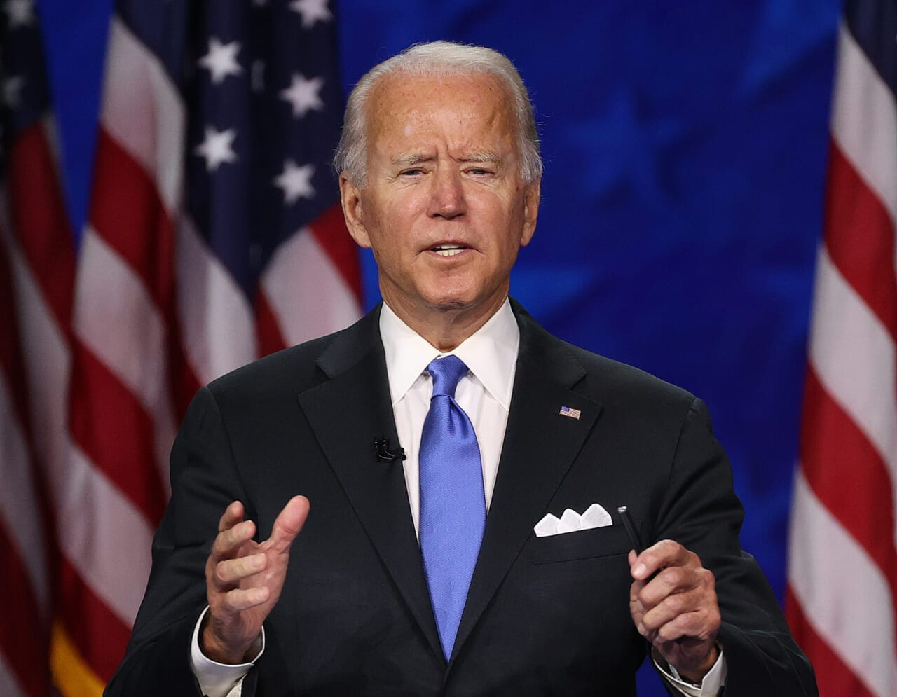 Biden says 'no excuse for looting, violence' amid Philadelphia unrest