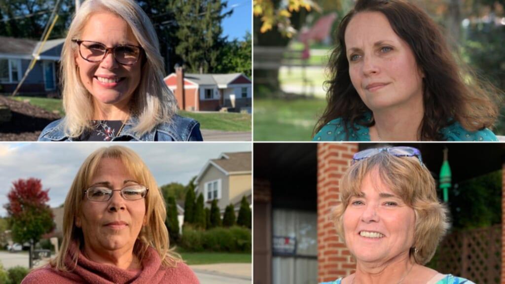 Trump White women Pennsylvania thegrio.com