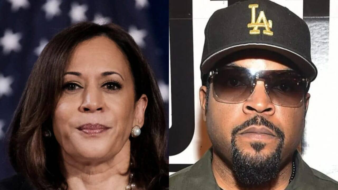 Ice Cube explains why he blew off Zoom call with Kamala Harris