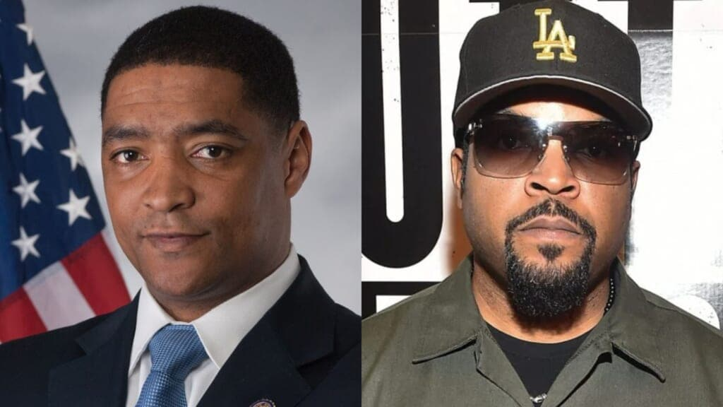 Rep Cedric Richmond Ice Cube thegrio.com