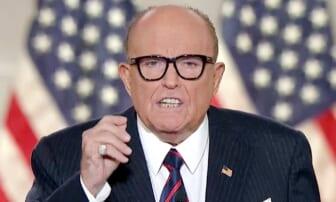 Giuliani, awaiting COVID-19 results, coughs while slamming Biden on Fox News - TheGrio