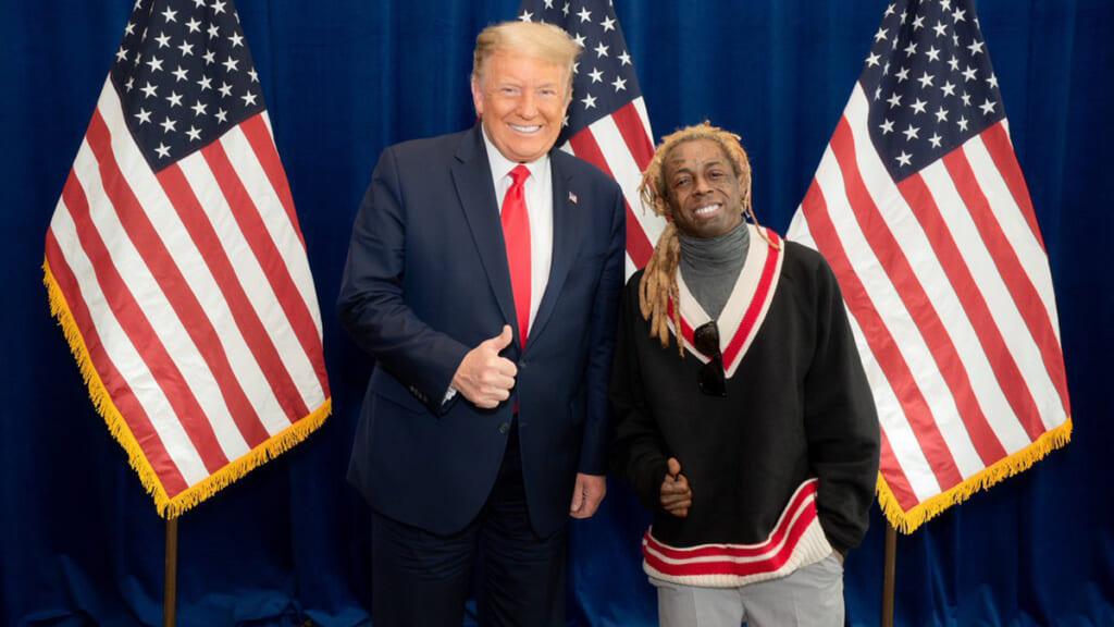 Trump Lil Wayne thegrio.com
