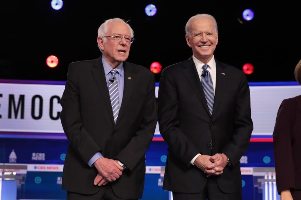 Bernie Sanders Joe Biden thegrio.com