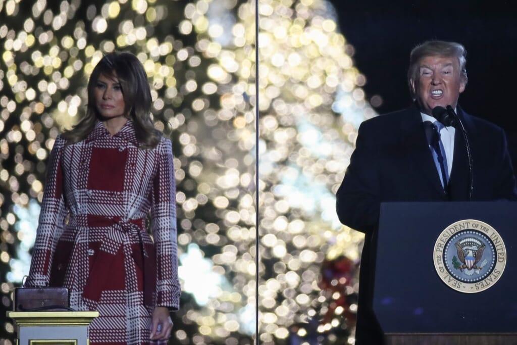 President Trump Melania thegrio.com