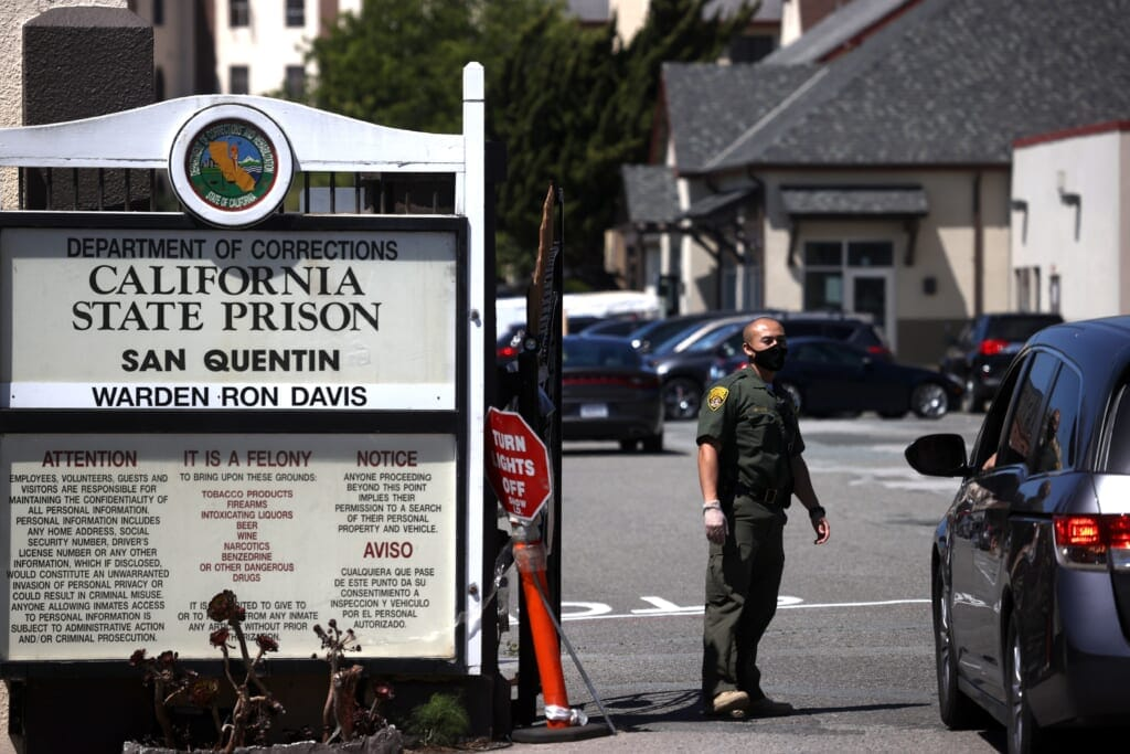 Coronavirus Cases Surge To Over A Thousand At San Quentin Prison