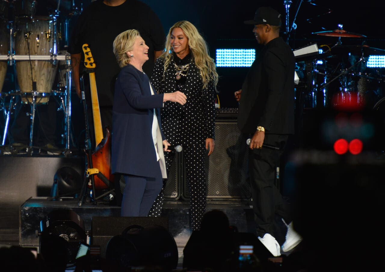 Hillary Clinton Beyonce Jay Z thegrio.com