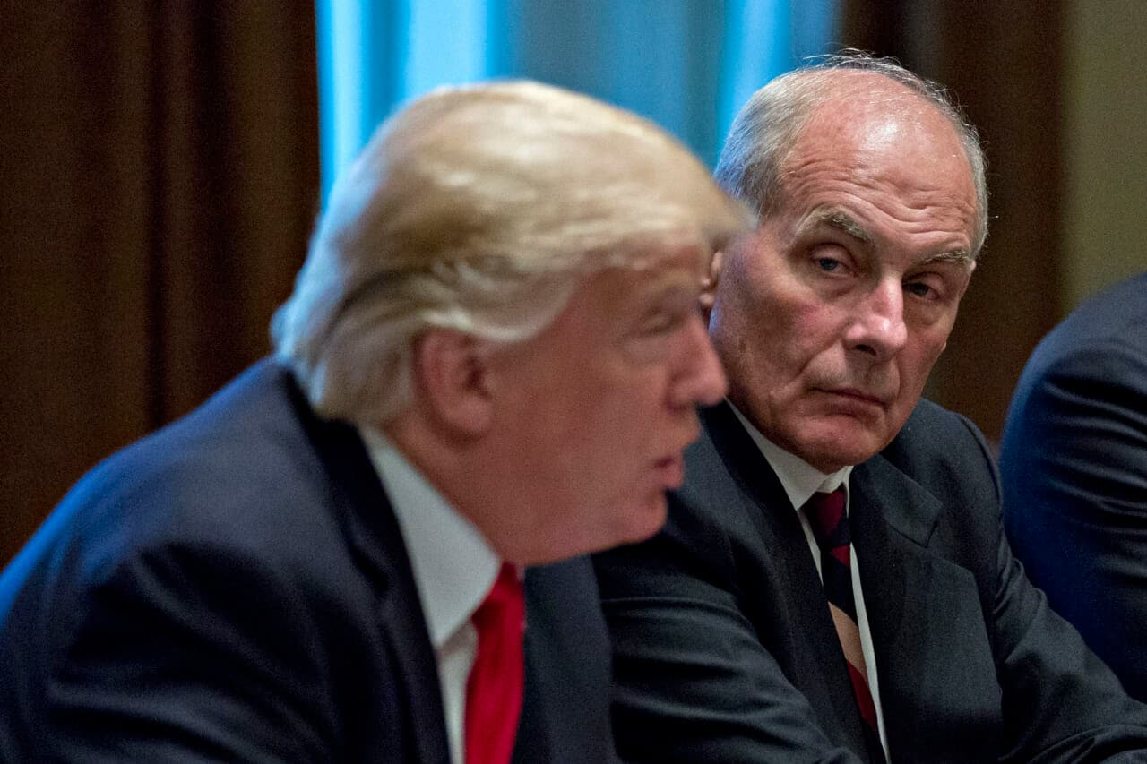 John Kelly, ex-White House chief, condemns Trump for blocking transition