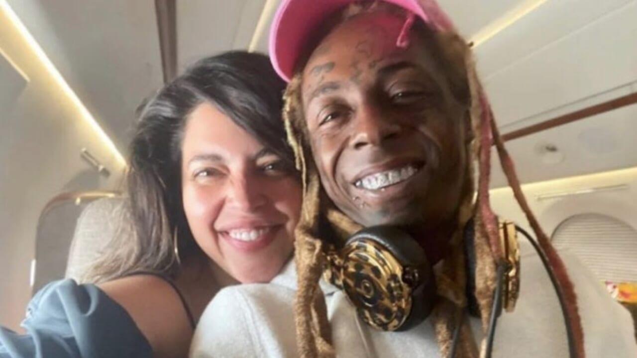Lil Wayne's model girlfriend Denise Bidot denies dumping him following his Trump endorsement - TheGrio