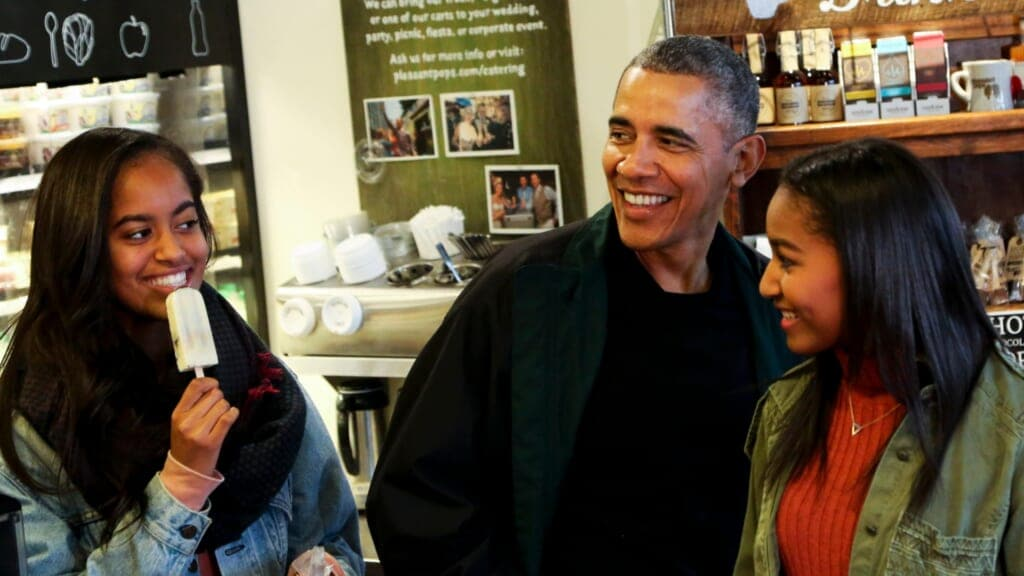 Obama Sasha Malia thegrio.com