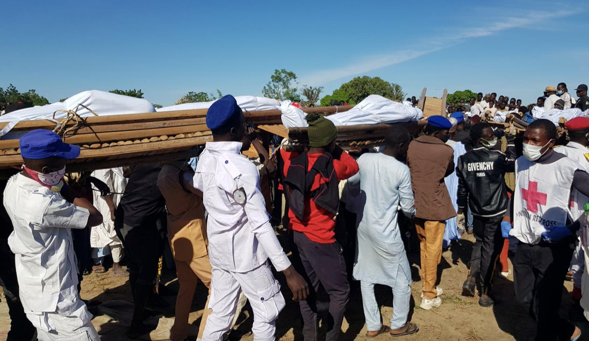 Mass burial held for farmers murdered by militants in Nigeria - TheGrio