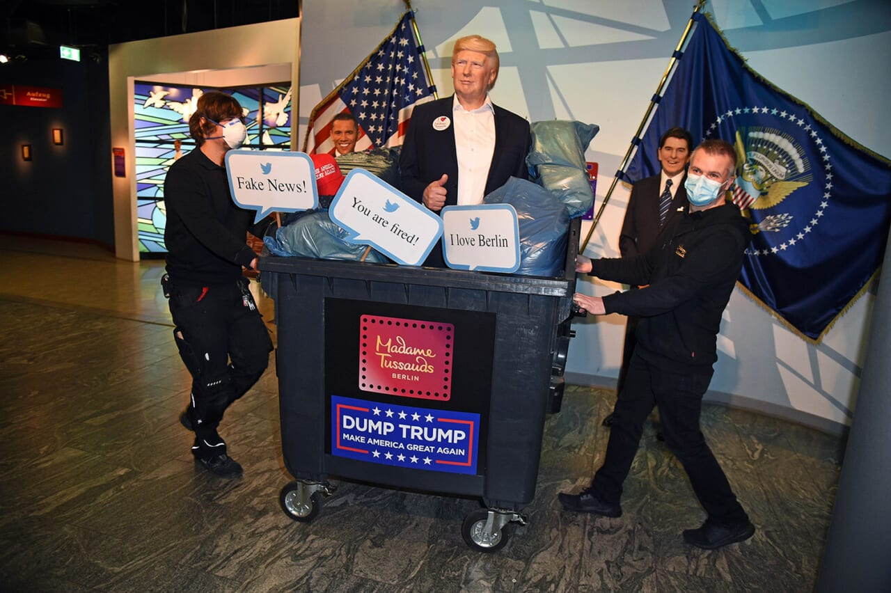 Berlin's Madame Tussauds throws out Trump statue - TheGrio