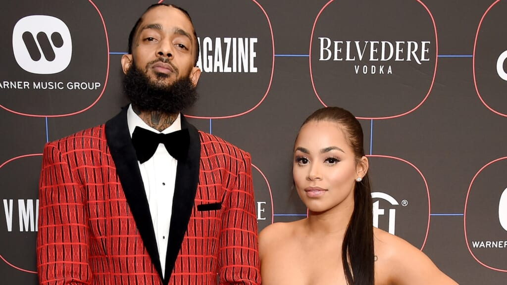 Lauren London Nipsey Hussle tattoo thegrio.com