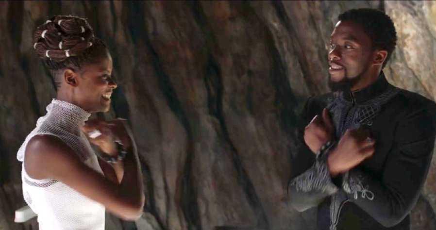 Black Panther Letitia Wright Wakanda Forever thegrio.com