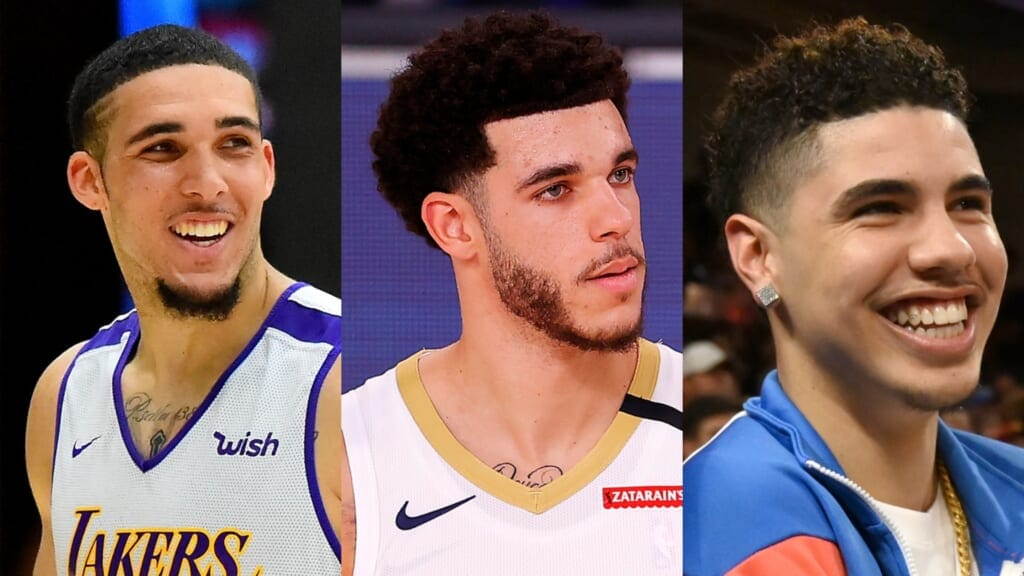 Liangelo Ball Signs With Pistons All Three Ball Brothers In Nba Thegrio Thegrio