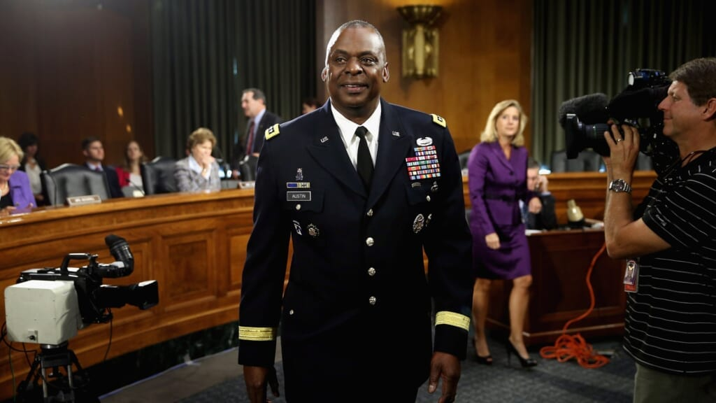 Gen. Lloyd Austin's historic Defense Secretary nomination gets backing from NAACP, other Black organizats