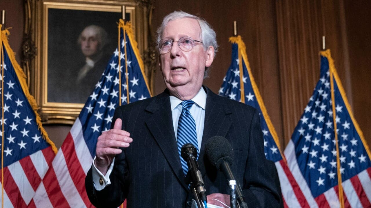 McConnell reportedly pleased by Trump impeachment talks - TheGrio
