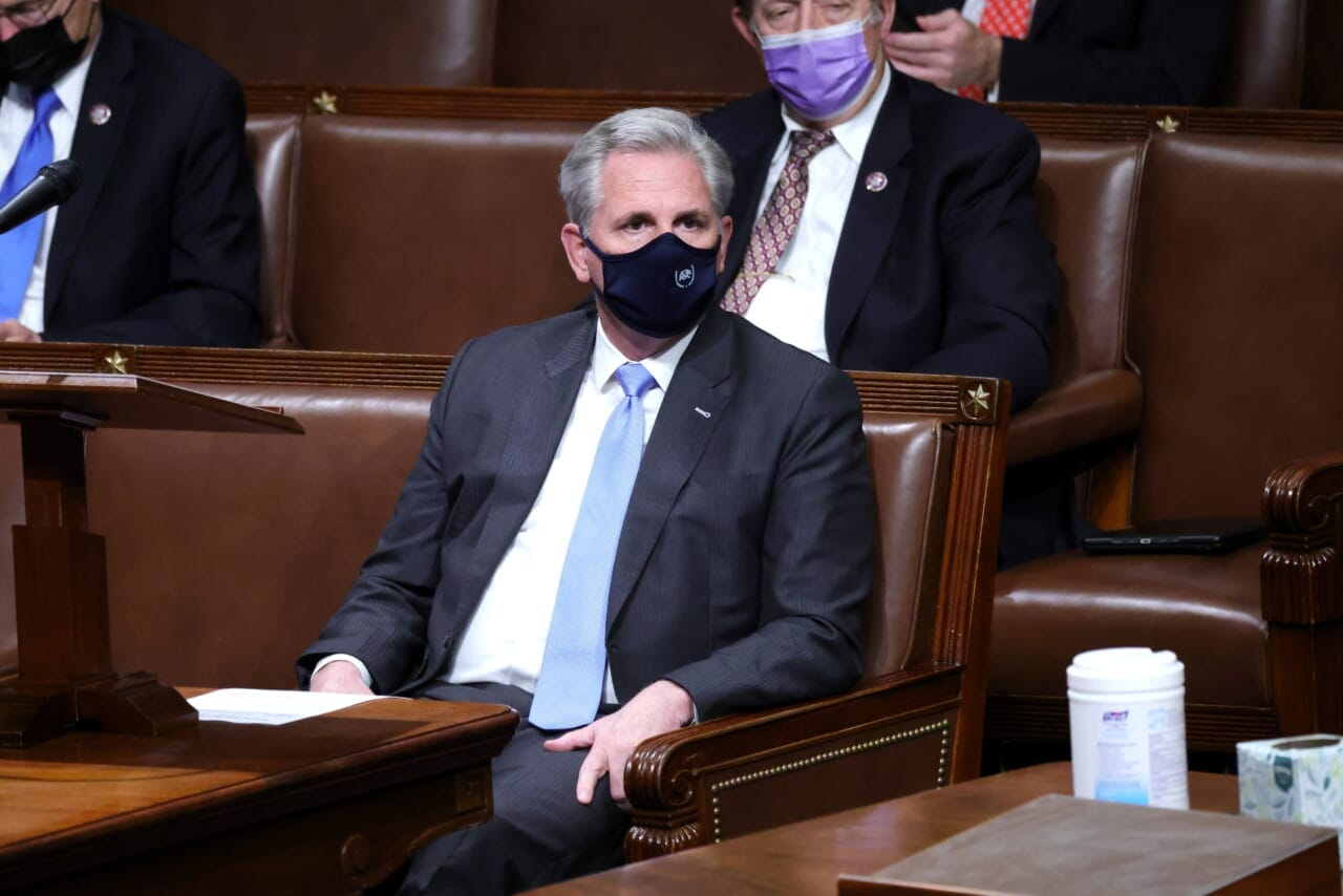 McCarthy says 'undisputedly' no evidence Antifa participated in Capitol riots - TheGrio