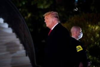 President Trump Returns After Border Visit