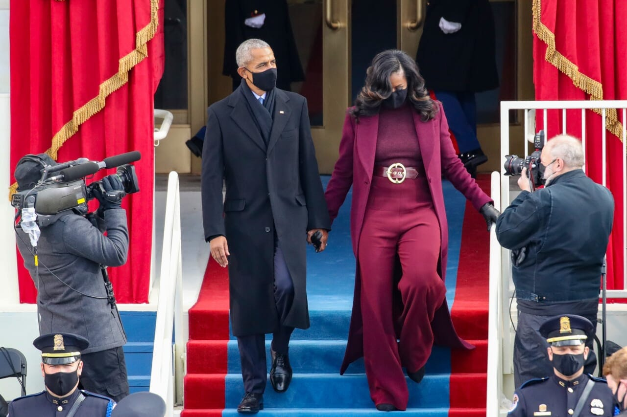 Black Twitter can't get enough of Michelle Obama's inauguration look - TheGrio