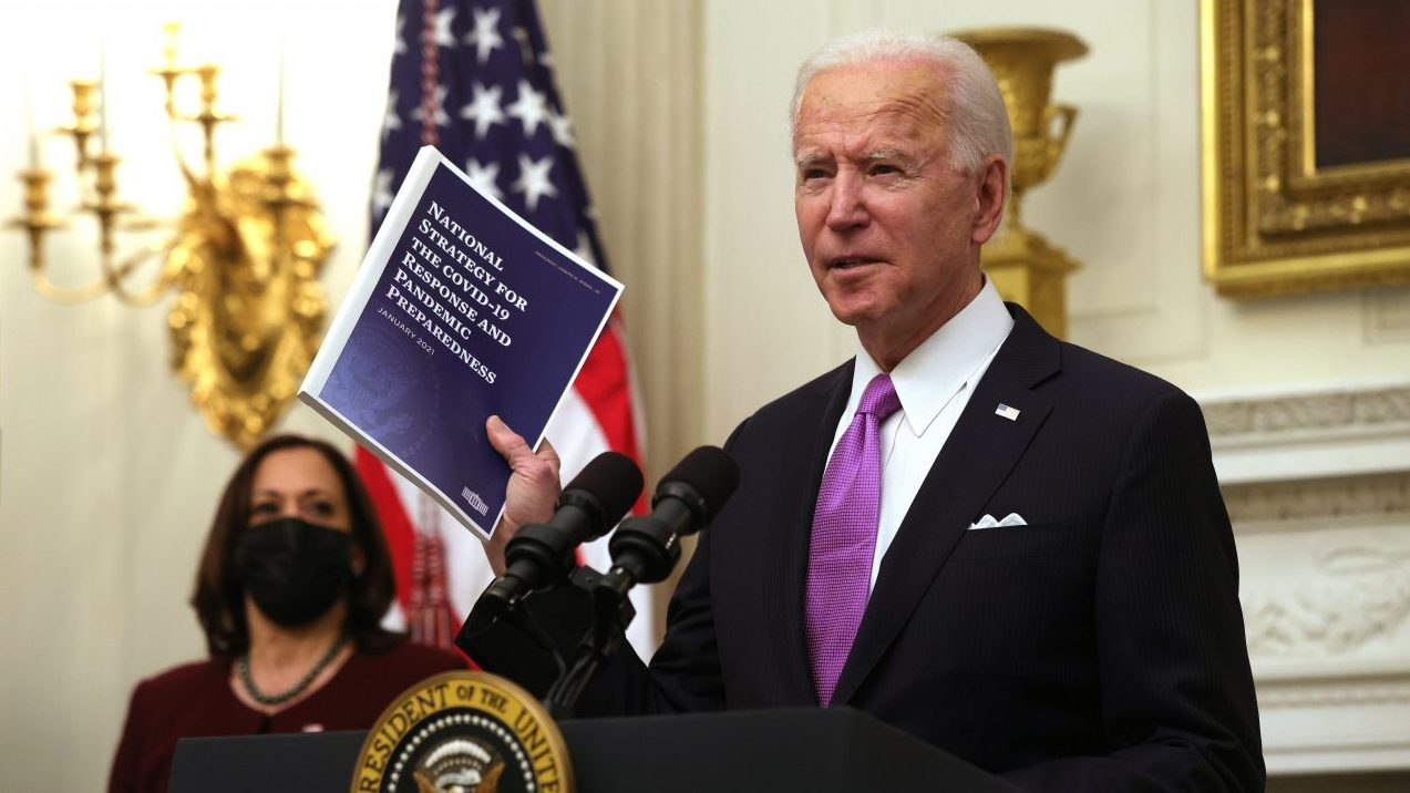 TIME begins Biden presidency with cover of Oval Office trashed by Trump