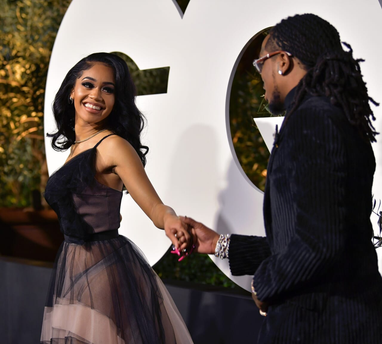 Saweetie says she knew Quavo loved her when he gave her his last piece of chicken