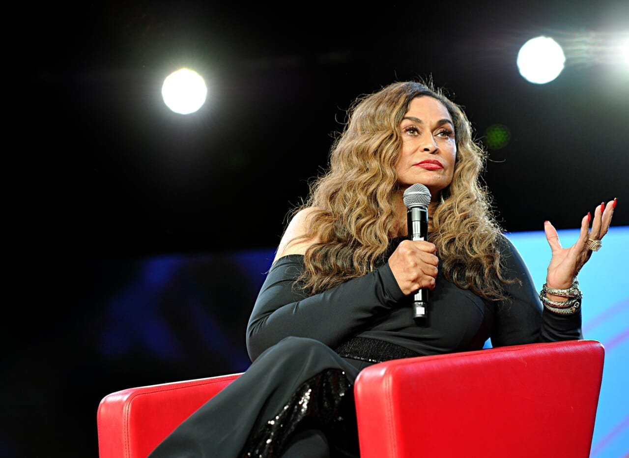 Tina Knowles shows off fierce makeup look from granddaughter Blue Ivy - TheGrio