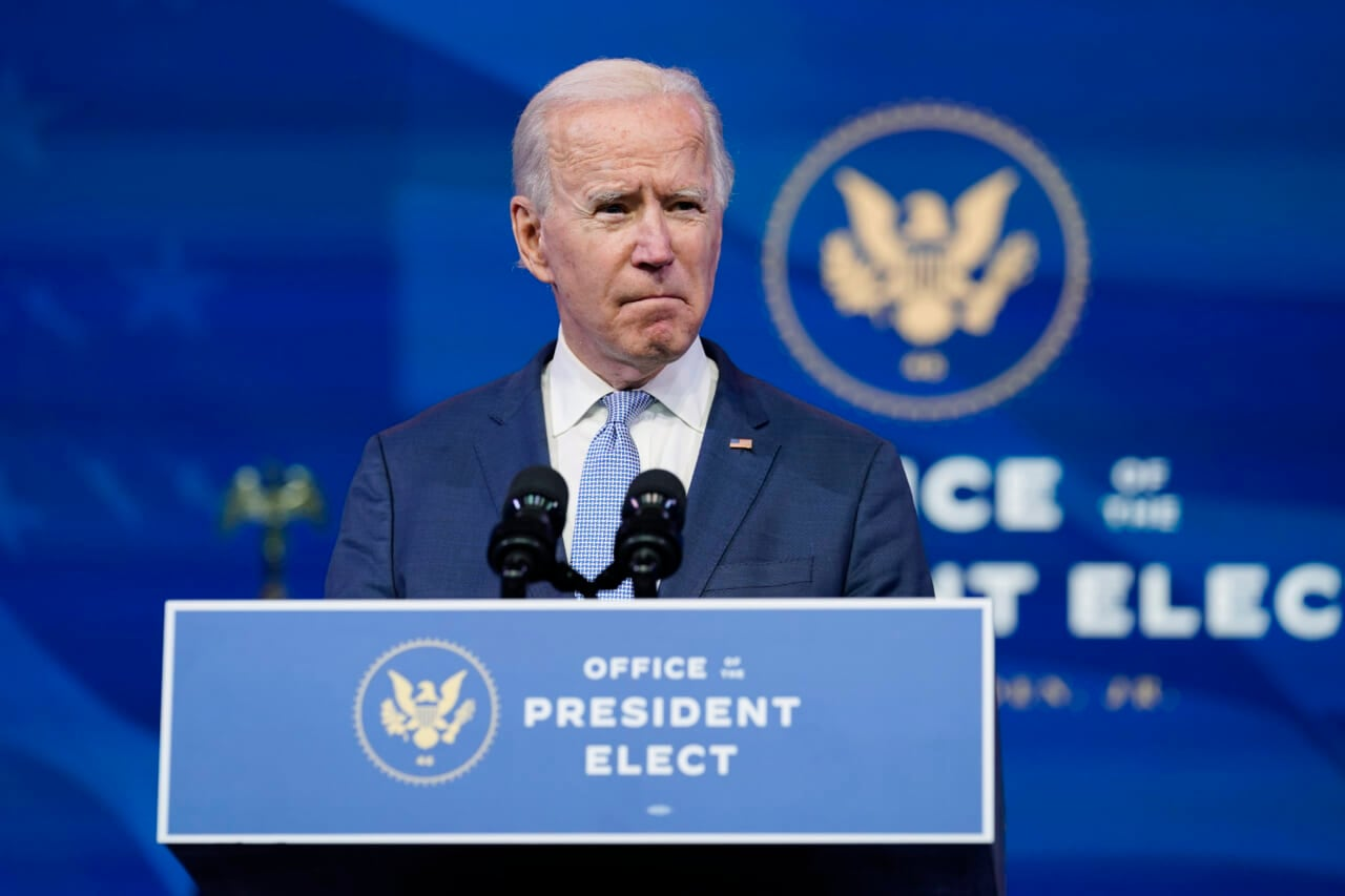 Biden calls on Trump mob to pull back and 'allow democracy to go forward'