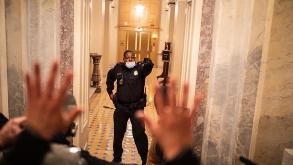 Capitol Police Officer Eugene Goodman thegrio.com