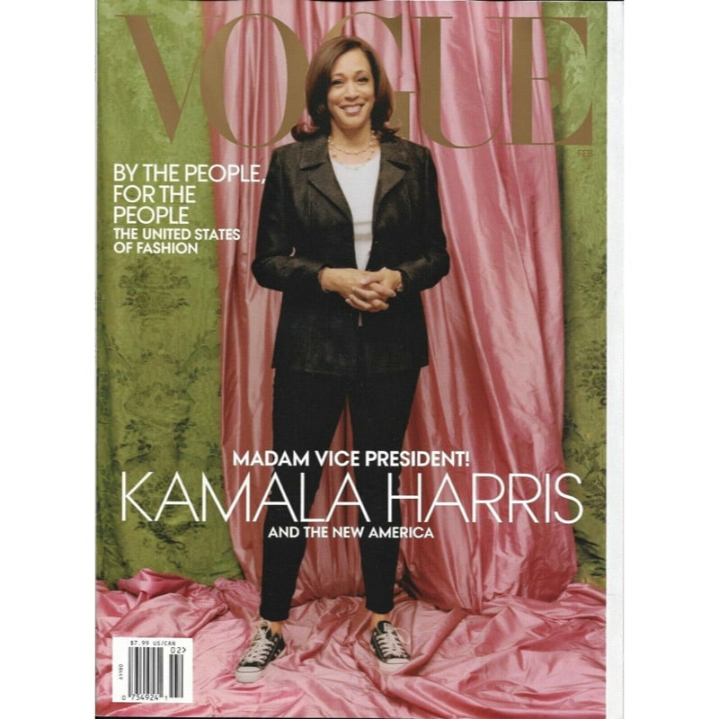 The internet is furious about Kamala Harris' Vogue cover photo