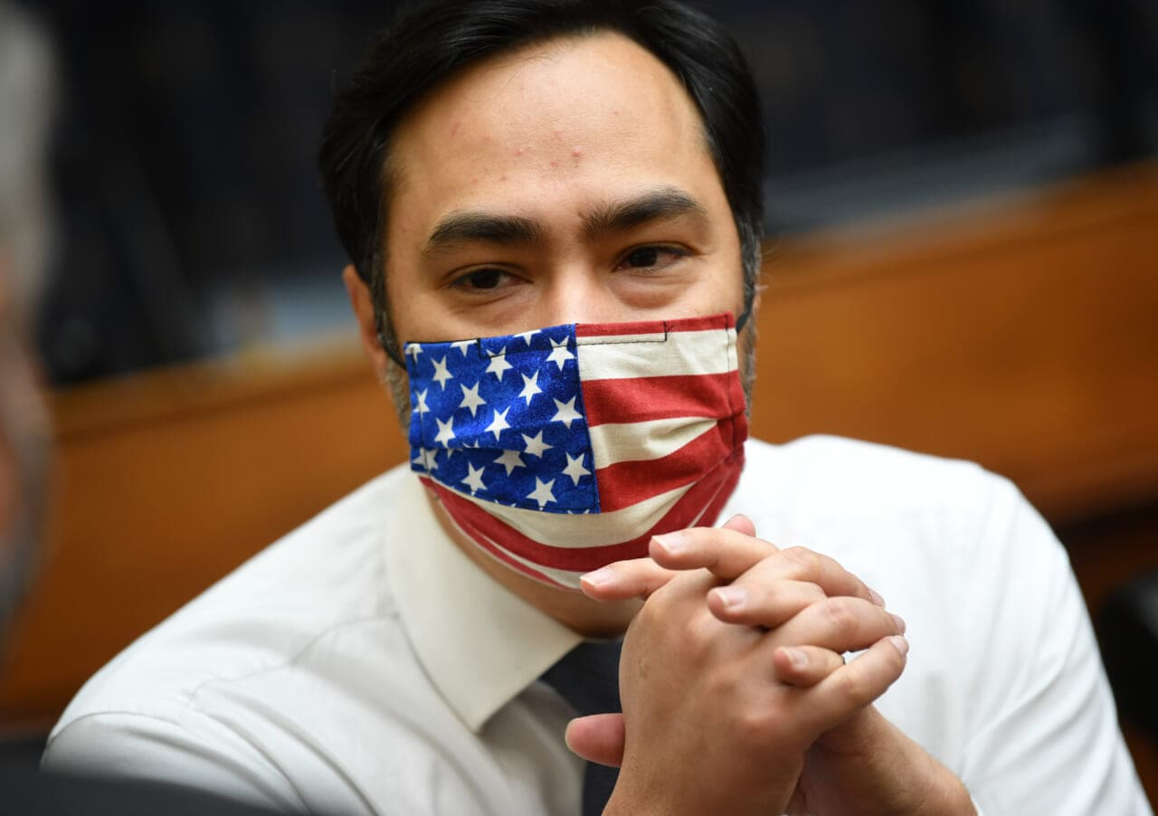 Rep. Joaquin Castro wants Trump's name banned from federal buildings - TheGrio