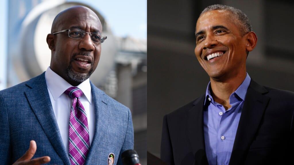 Warnock Obama Georgia thegrio.com