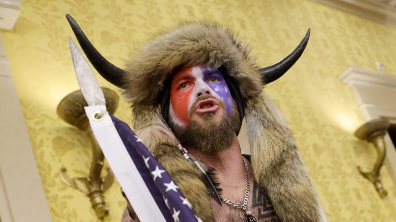The QAnon Viking just turned on Trump