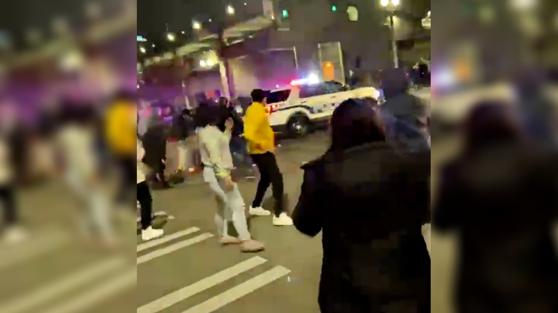 Tacoma police vehicle drives through crowd in viral video – TheGrio