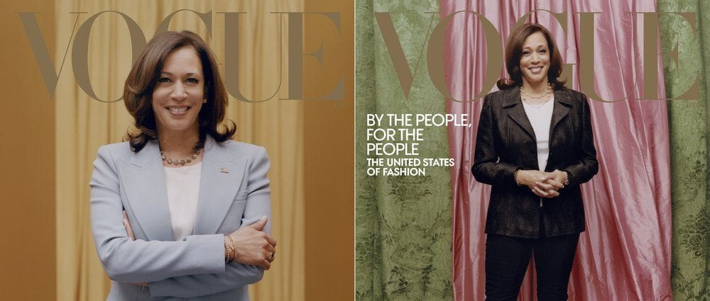 Vogue's Kamala Harris cover shoot draws unsavory reviews on Twitter