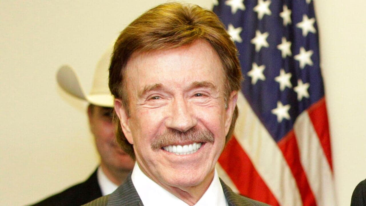 Chuck Norris reacts as DC rioter lookalike photo goes viral