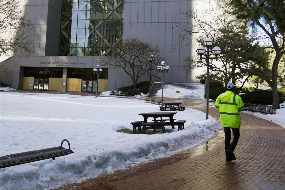 Growing tension in Minneapolis as trial looms in Floyd death