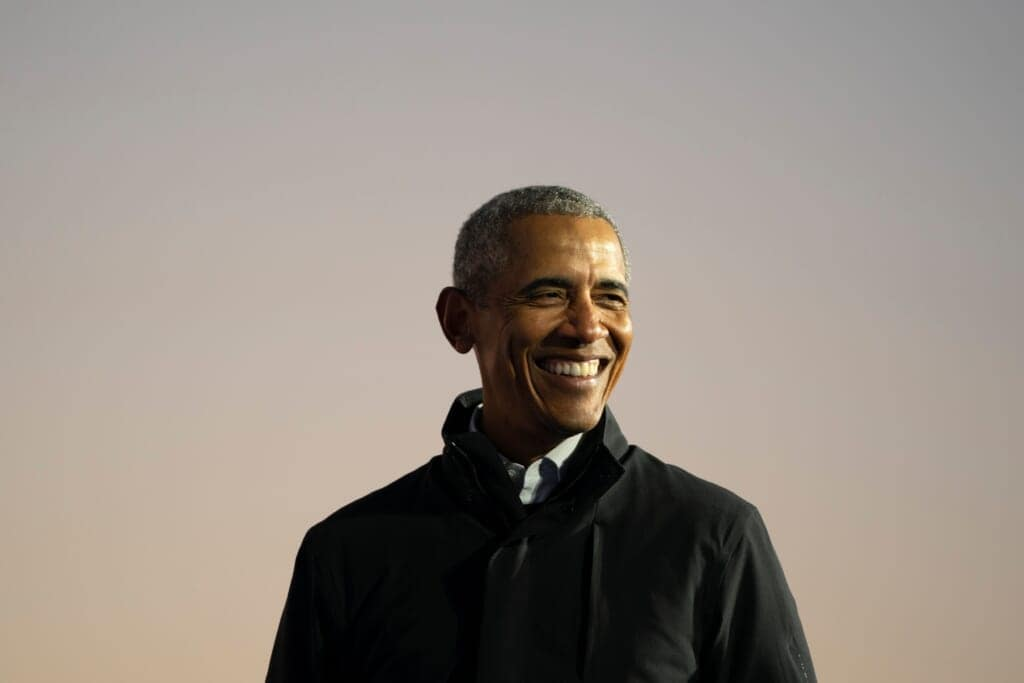 Barack Obama Campaigns With Joe Biden In Michigan 3 Days Ahead Of Election