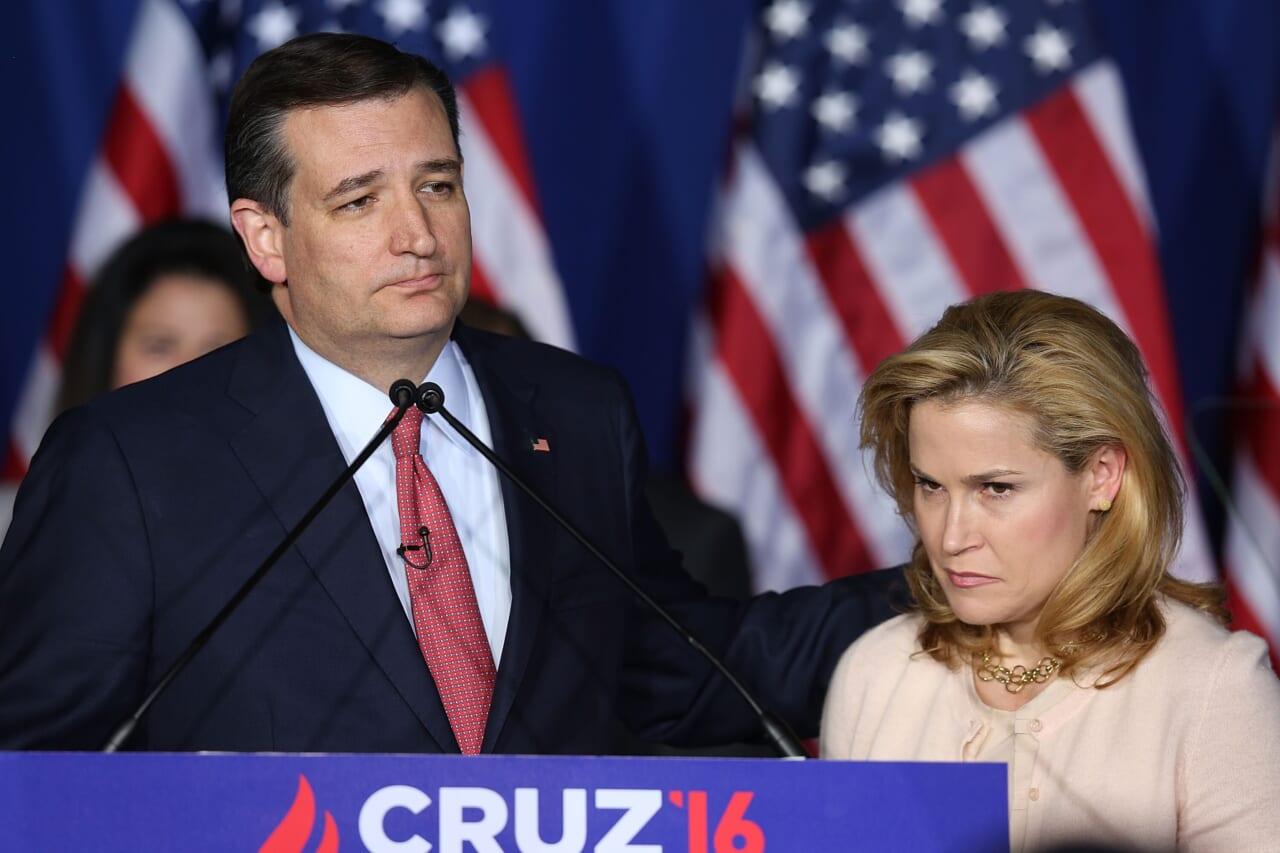 Ted Cruz's wife Heidi is 'pretty pissed'