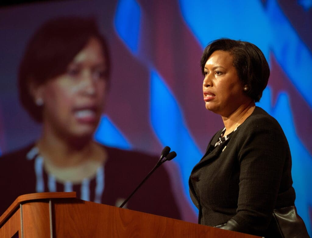 D.C. Mayor Bowser And Federal Partners Hold Security Briefing Ahead Of Wednesday's Inauguration