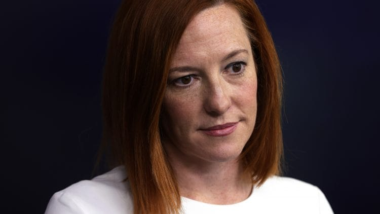 Briefing Held At White House By Press Secretary Psaki