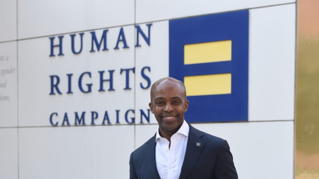 Alphonso David Human Rights Campaign thegrio.com
