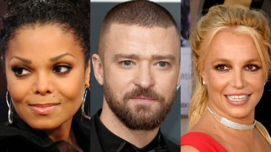 Janet Jackson Justin Timberlake Britney Spears thegrio.com