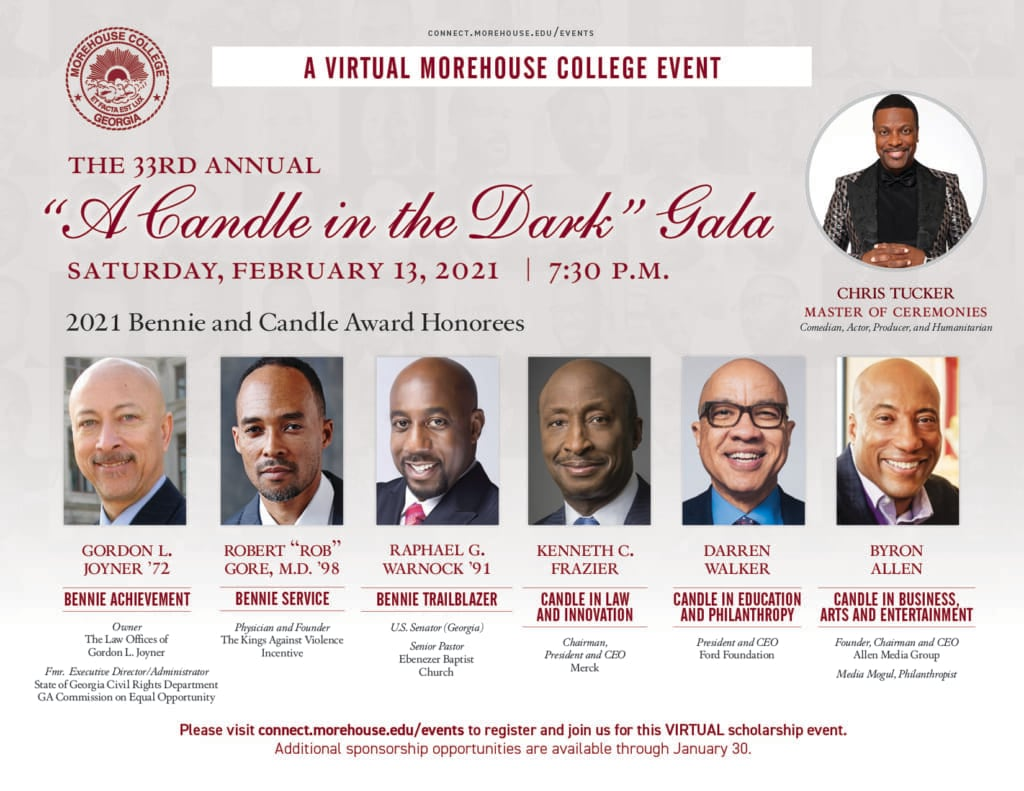 Byron Allen Morehouse College Candle thegrio.com