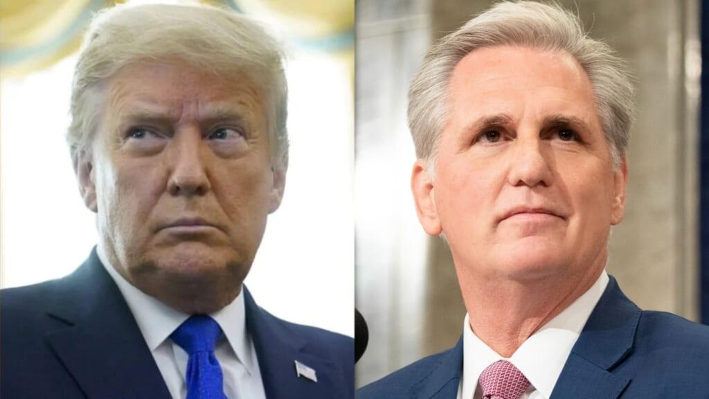 Trump McCarthy thegrio.com
