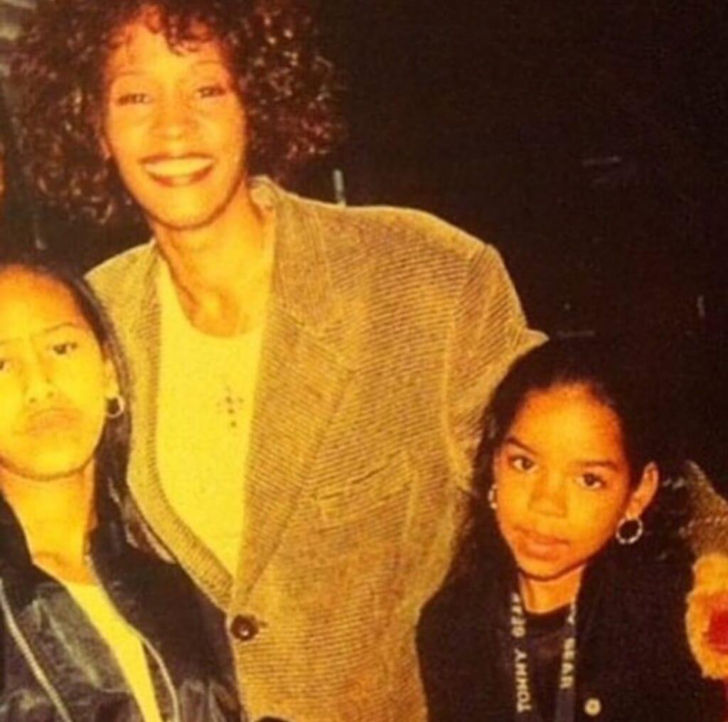 Whitney Houston Brandi Burnside Boyd thegrio.com